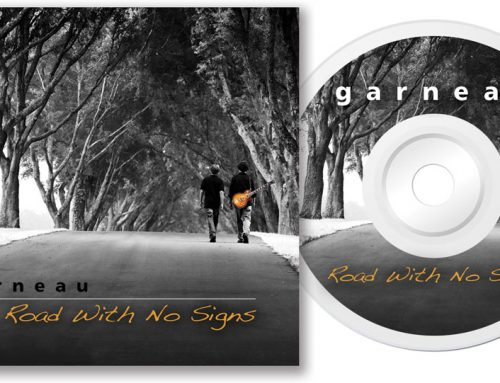 Garneau – CD Cover/Disk Design
