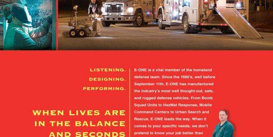 E-One Georgia Bureau Truck Ad
