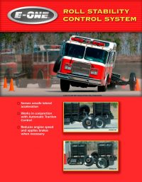 E-One Roll Stability Fire Truck Ad