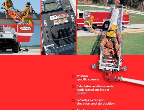 E-One Aerial Rescue Truck Ad