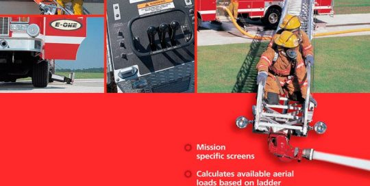 E-One Ladder Fire Truck Ad